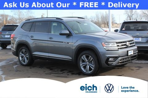 New 2020 Volkswagen Atlas 3.6L V6 SE w/Technology R-Line